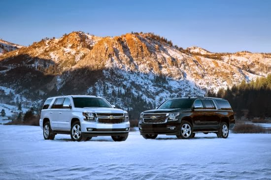 2015 Chevrolet Tahoe and Suburban Pricing