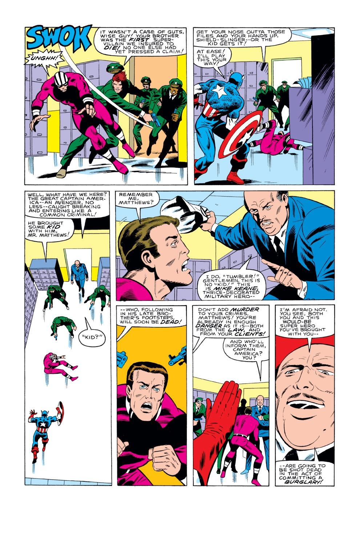 Captain America (1968) Issue #291 #207 - English 18