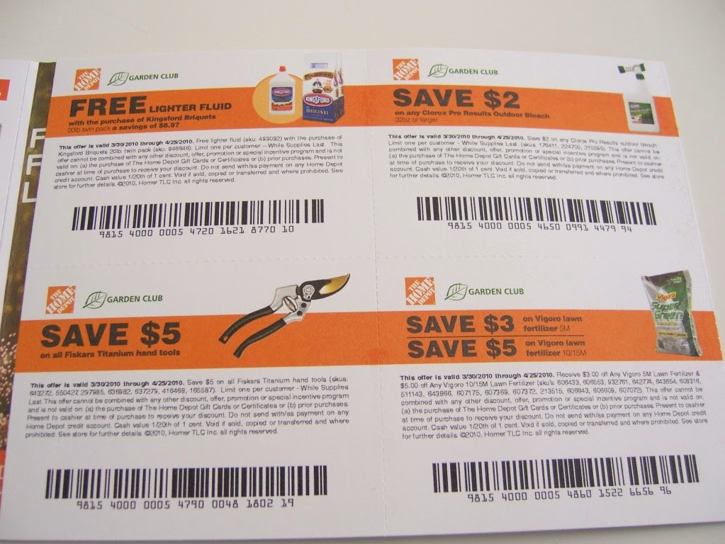 Home store coupons