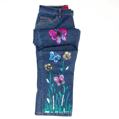 Painted Jeans Gallery
