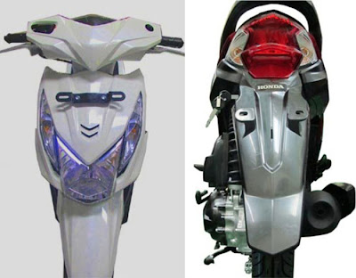 New Honda Beat PGM Fi Lampu Depan, Lampu Belakang