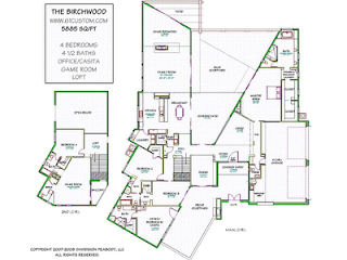 Elegant Modern Home Floor Plans Ideas