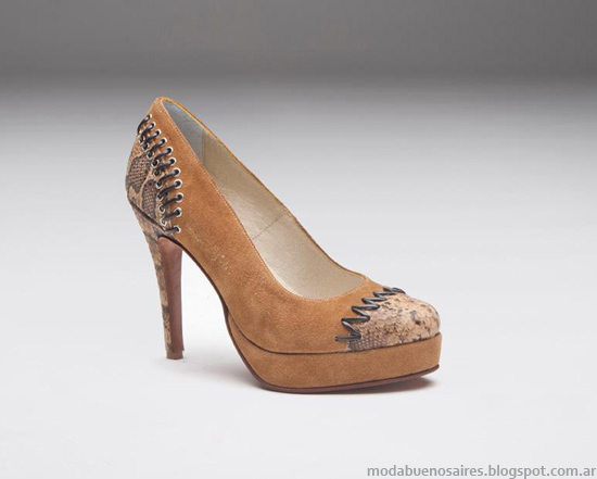 Zapatos de mujer Micheluzzi invierno 2013