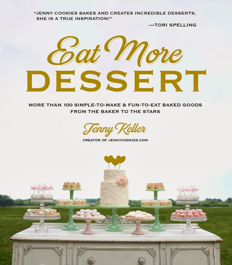 Enter to win a copy of @JennyCookies' new book Eat More Dessert; ends 4/11