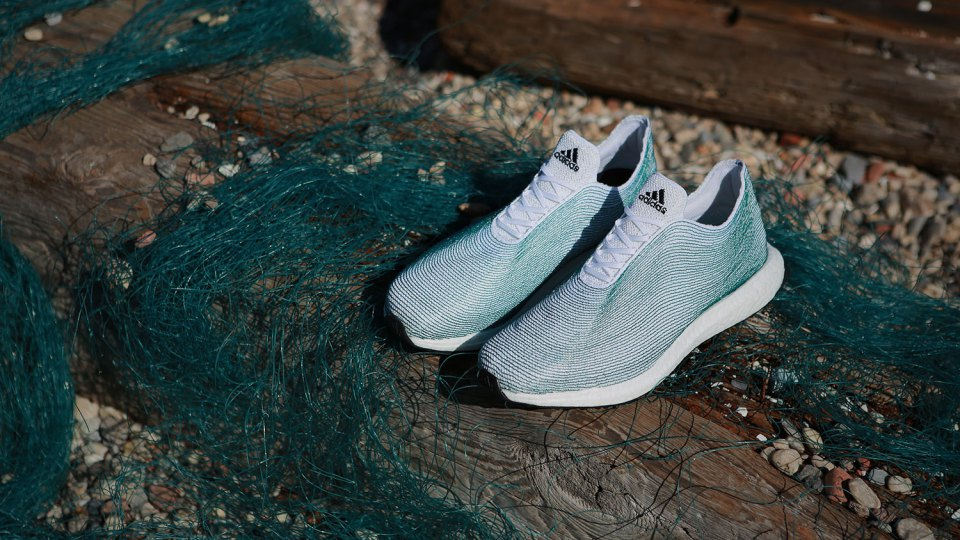 Adidas Creates Sneakers That Are Made Entirely from Ocean Trash