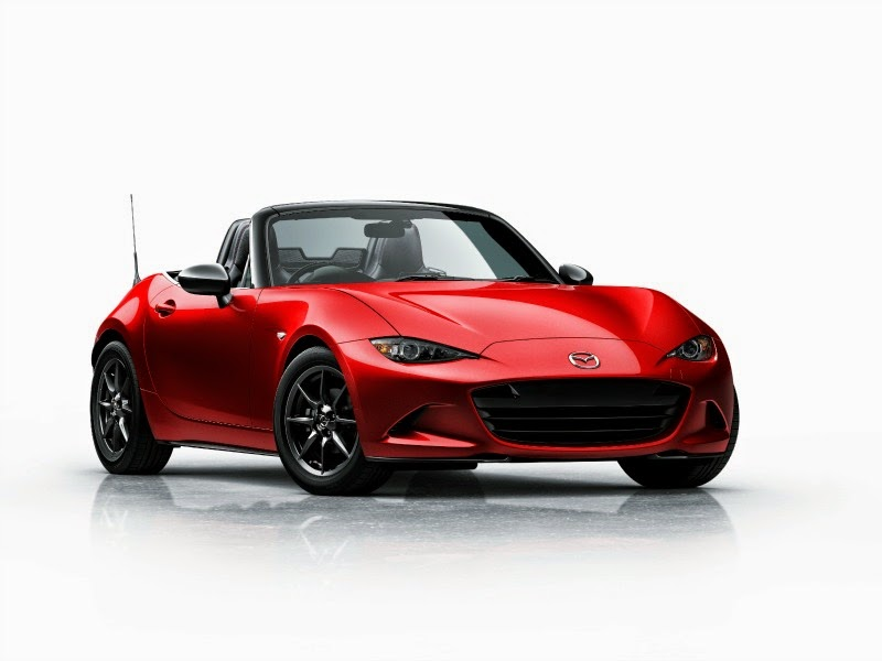 2016 Mazda MX-5 Miata in Soul Red