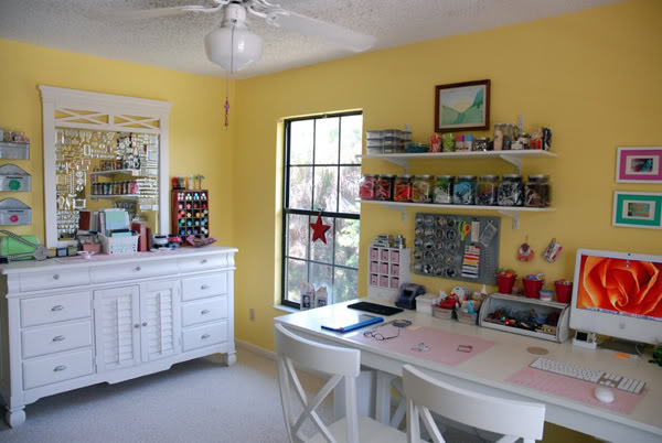 Delorme designs ralph lauren island brights for Craft room paint colors