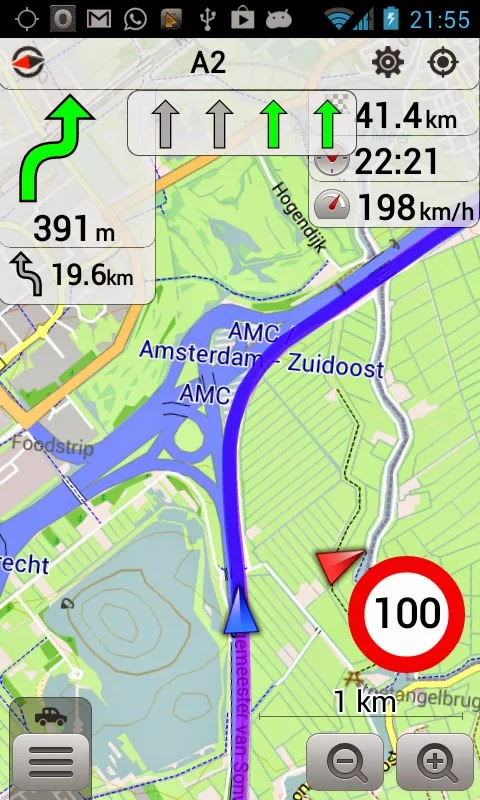 OsmAnd+ Maps & Navigation v1.7.4
