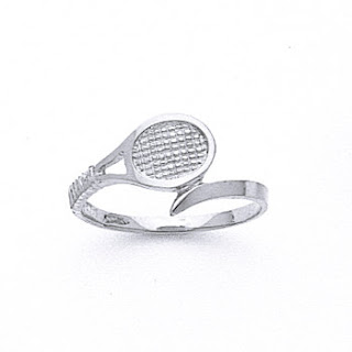 Sterling Silver Tennis Ring