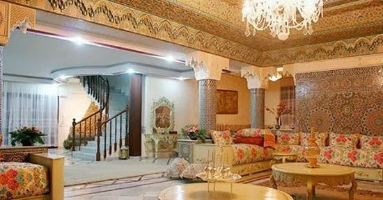 Salons du Maroc et Décoration orientale: Salon marocain dernières tendances 2014