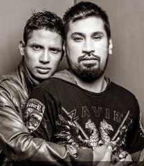 André Silva con Aldo Miyashiro