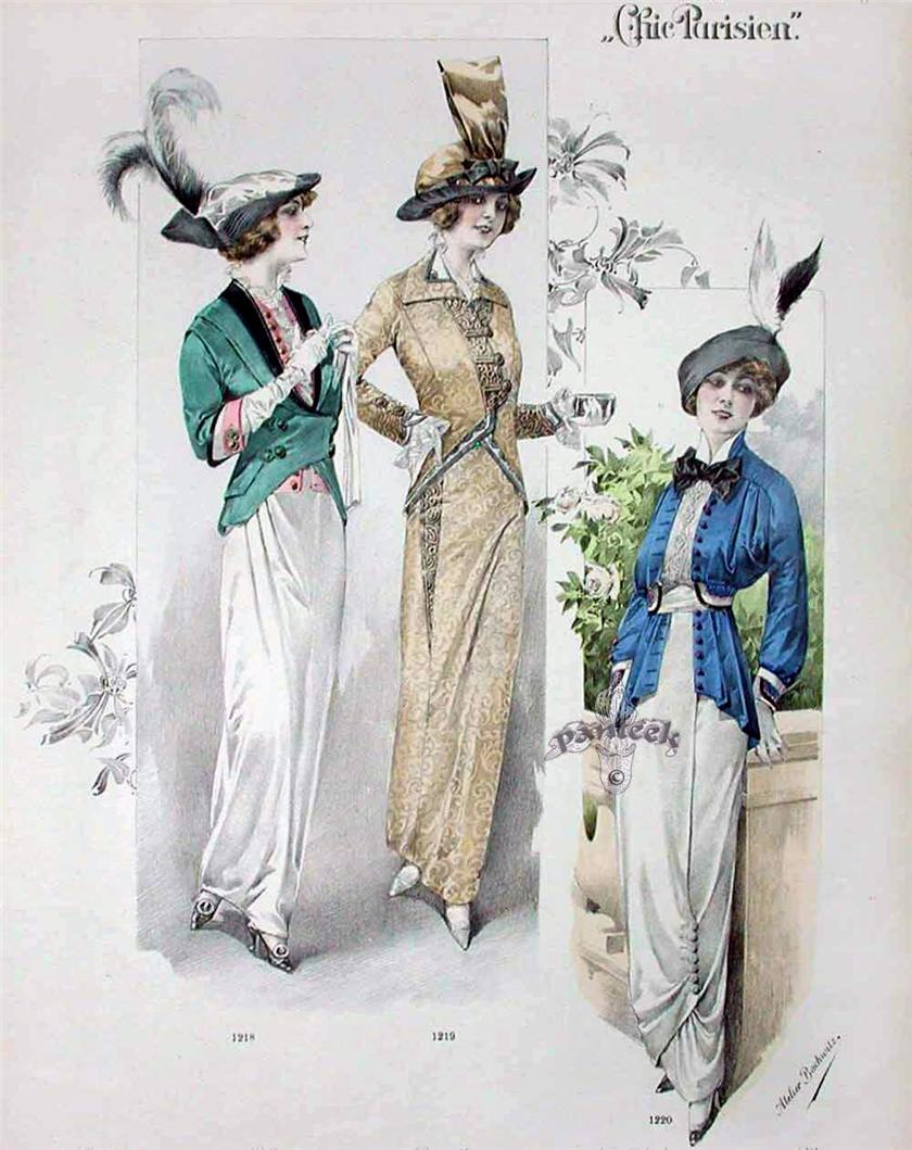 Fashion in australia 1900 to 1914 History of Womens Fashion - 1900 to 1919 Glamourdaze