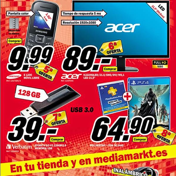 ofertas de monitor 15-9-14