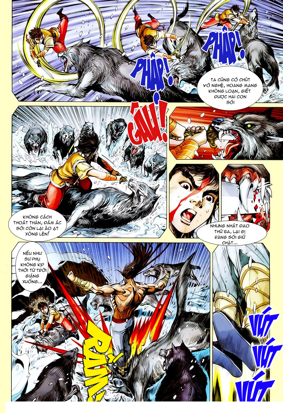 truyện tranh thiết tướng tung hoành Chapter 16/