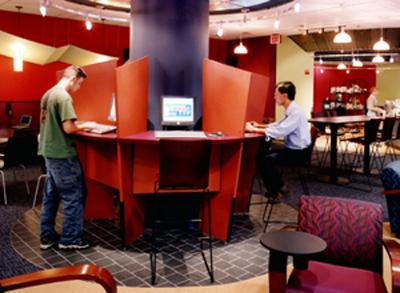 internet café