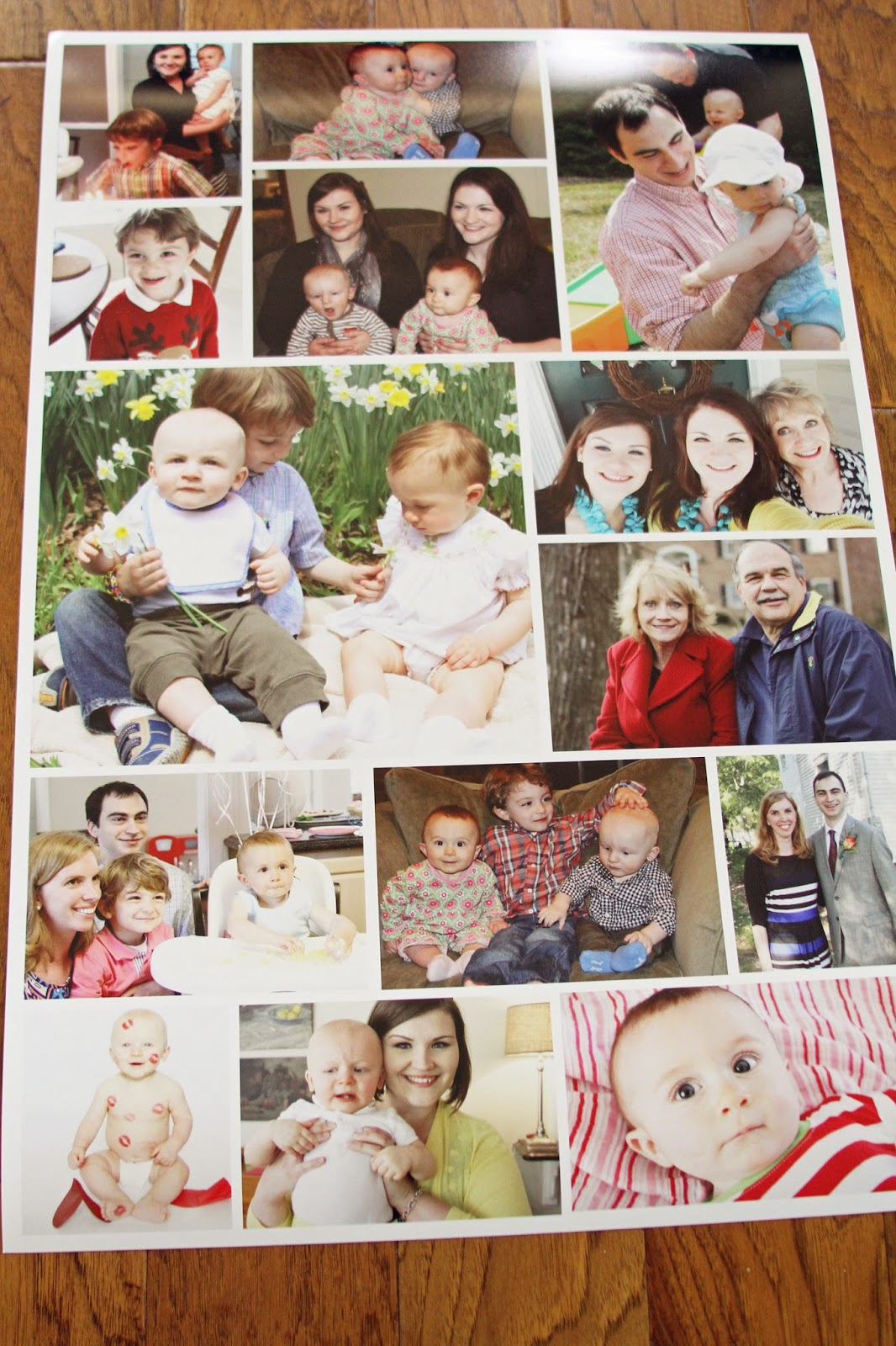 Free photo collage poster templates