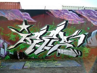 Canvas Graffiti Leters D