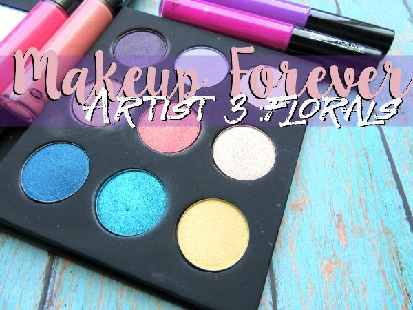 Makeup Forever Artist Palette Volume 3-Florals