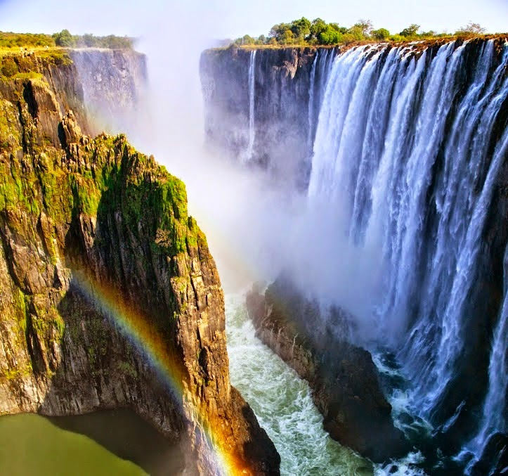 The most beautiful pictures of Victoria Falls