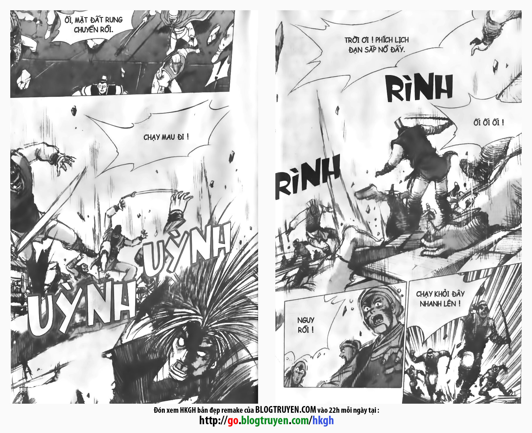Hiệp Khách Giang Hồ chap 138 page 21 - IZTruyenTranh.com