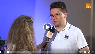 Credo TV: Interviu cu Mihai Neamțu 🔵 Școala de lideri creștini - Valea Drăganului 2019
