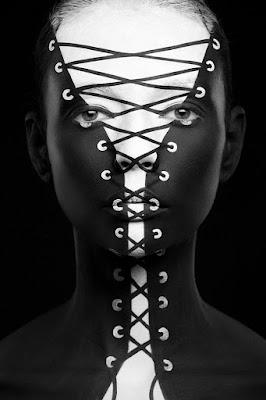 Fotografia De Rostros Pintados Maquillaje Artistico