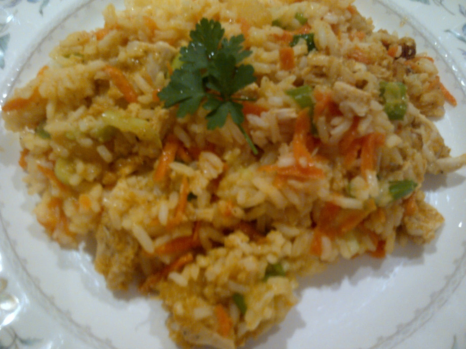 Pearls of Style: Plate Up. Hawaiian Rice