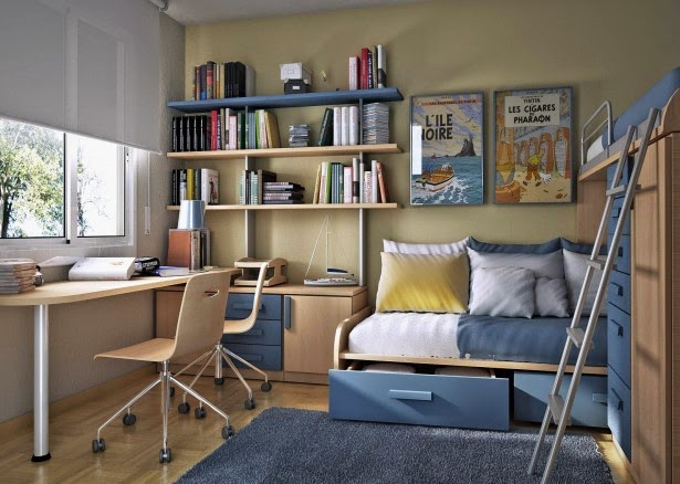 Adult kids rooms for small spaces