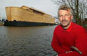 """هولندي يشيد """"سفينة نوح"""" خشية 19.jpg"""