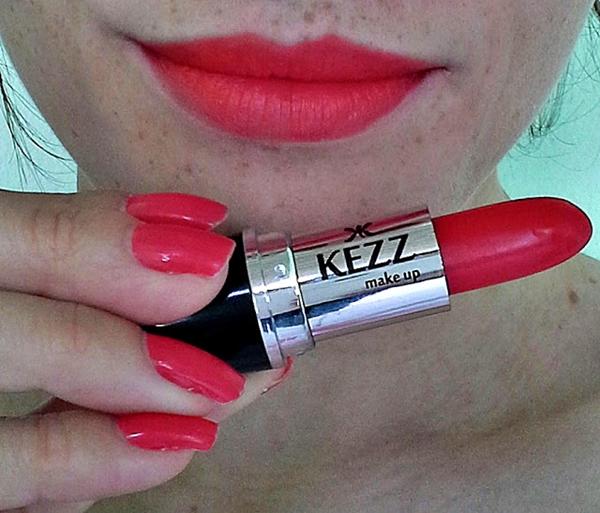 Produto BB: Batom Matte Kezz Make Up - Cor 25