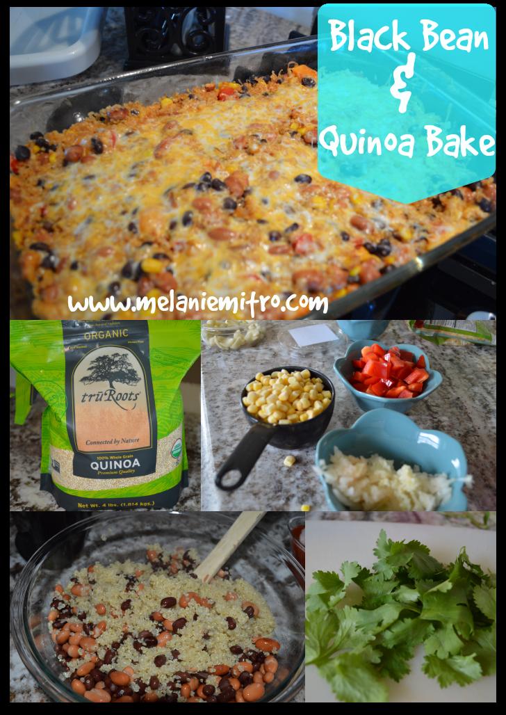 Clean Eating, Black Bean and Quinoa Enchilada Bake