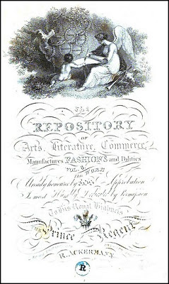 Frontispiece of Ackermann's Repository (Vol VIII July 1812)