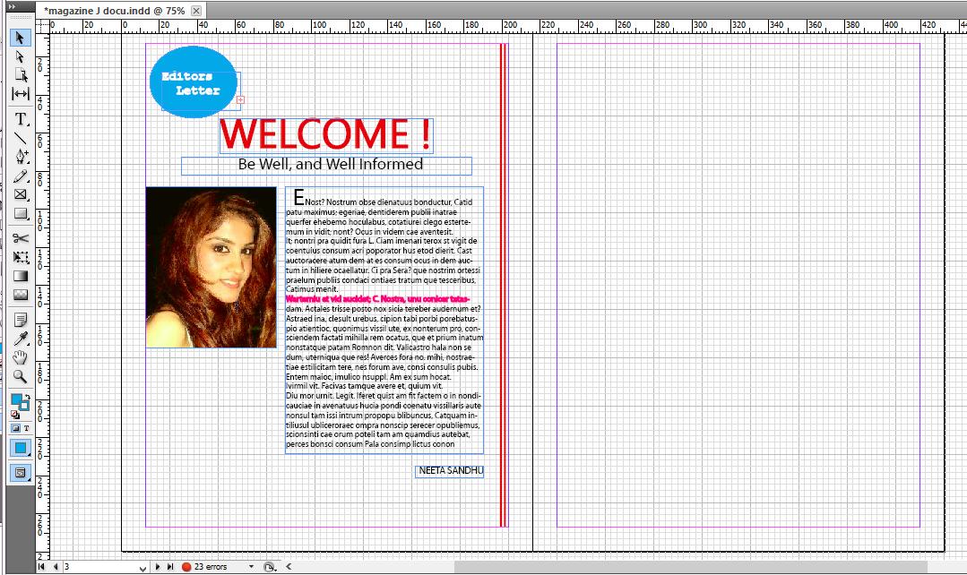 Publication design magazine design journal - Design journal magazine ...