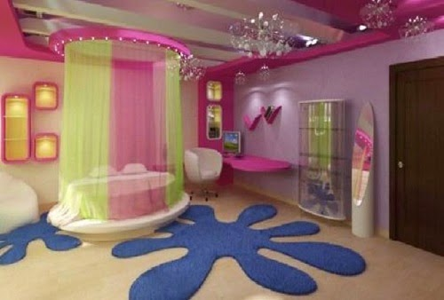 ديكور غرف نوم الأطفال