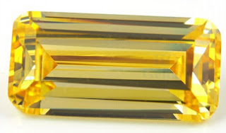 AAAAA_Quality_CZ_Yellow_Color_Emerald_Cut_Stones_Supplier