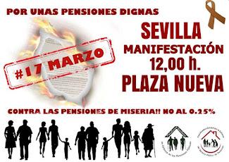 Luchamos por unas pensiones públicas y dignas