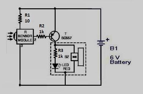 Tv Remote Tester Circuit