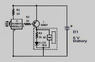 TV Remote Tester Circuit