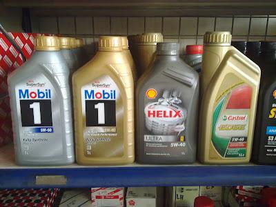 Jual Oli Mesin Shell Castrol Mobil 1 Motul Eceran Only