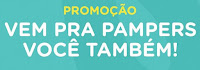 Promoção 1 ano de Pampers Grátis