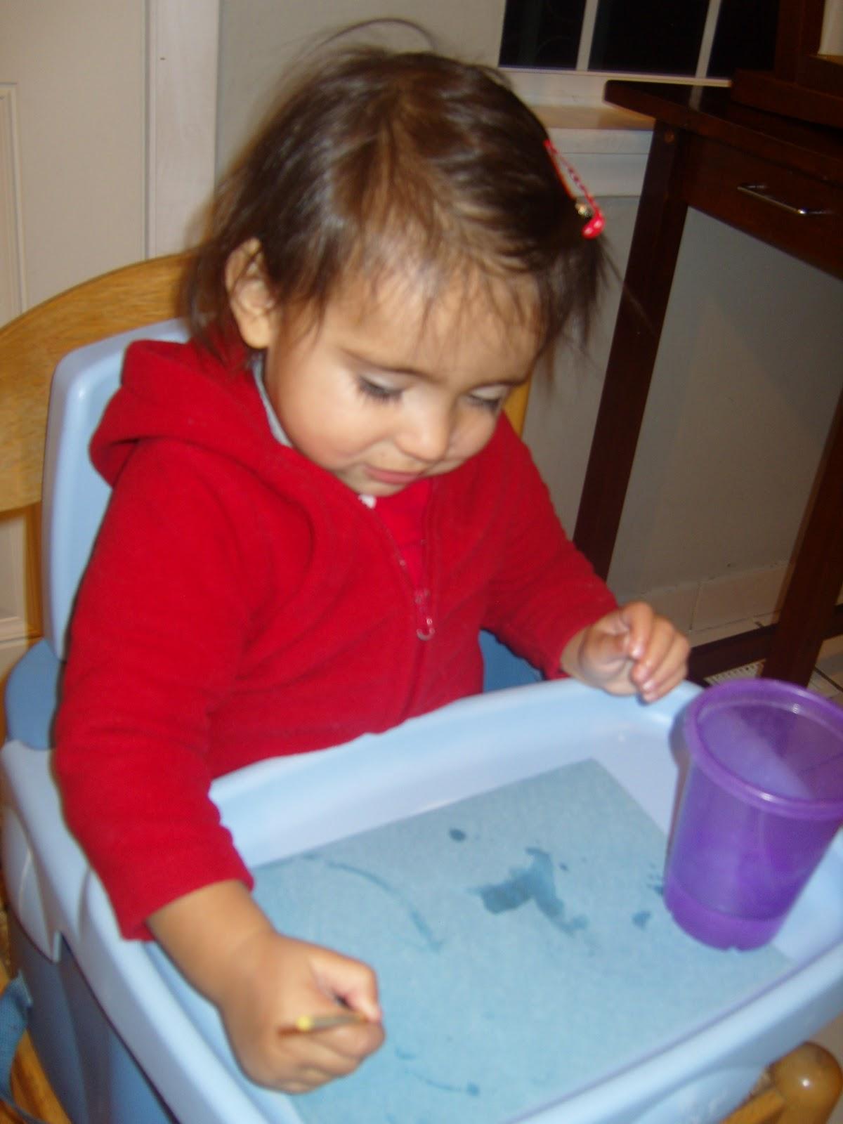 Creatividad Siempre}: {Actividades para niños} Pintando con niños ...