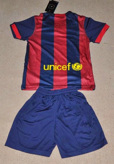 Kids Barcelona Home Player Issue 2014-2015