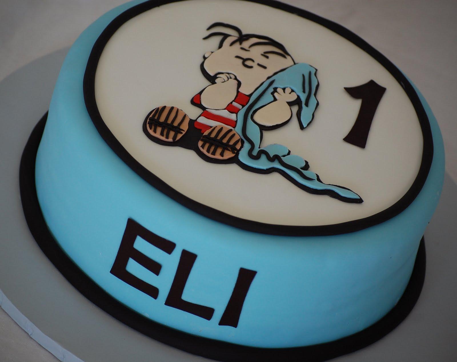 Cakefilley Linus Birthday Cake For Eli