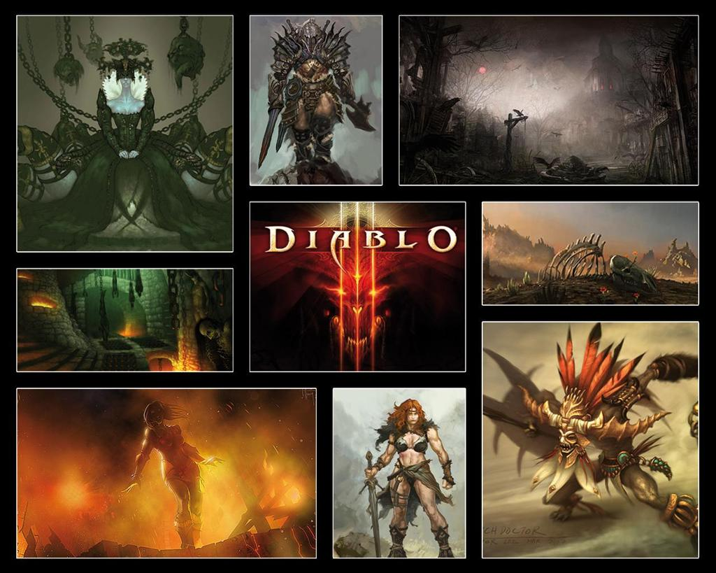 Diablo HD & Widescreen Wallpaper 0.303596350981802