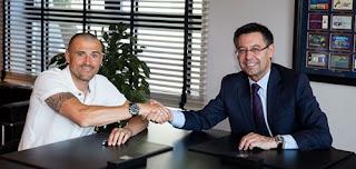 Luis Henrique renovação de contrato Barcelona