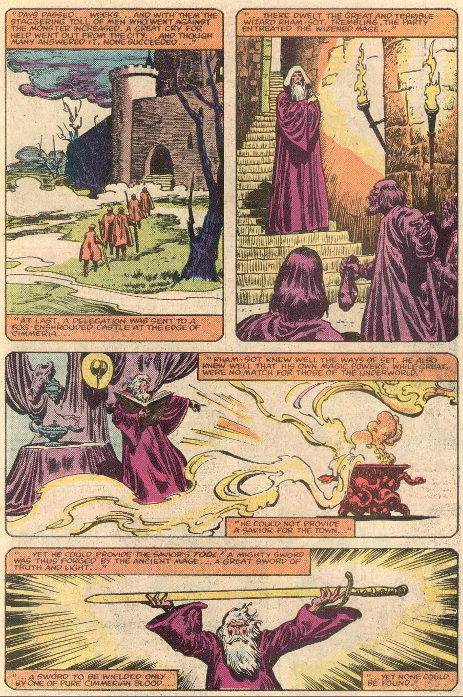 Conan the Barbarian (1970) Issue #144 #156 - English 8