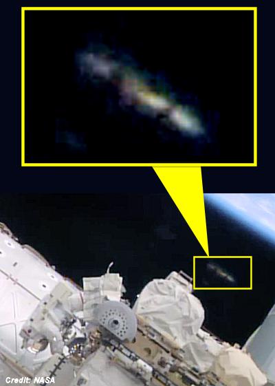 'UFO' Appears To Watch NASA Astronauts