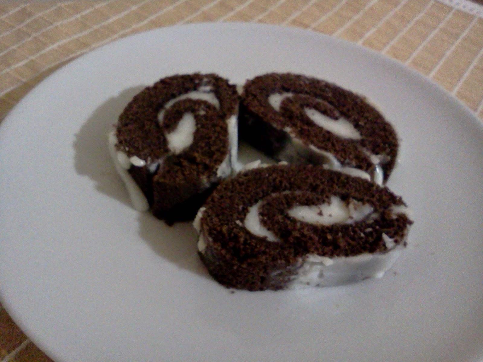 Kakaolu Rulo Poğaça Tarifi