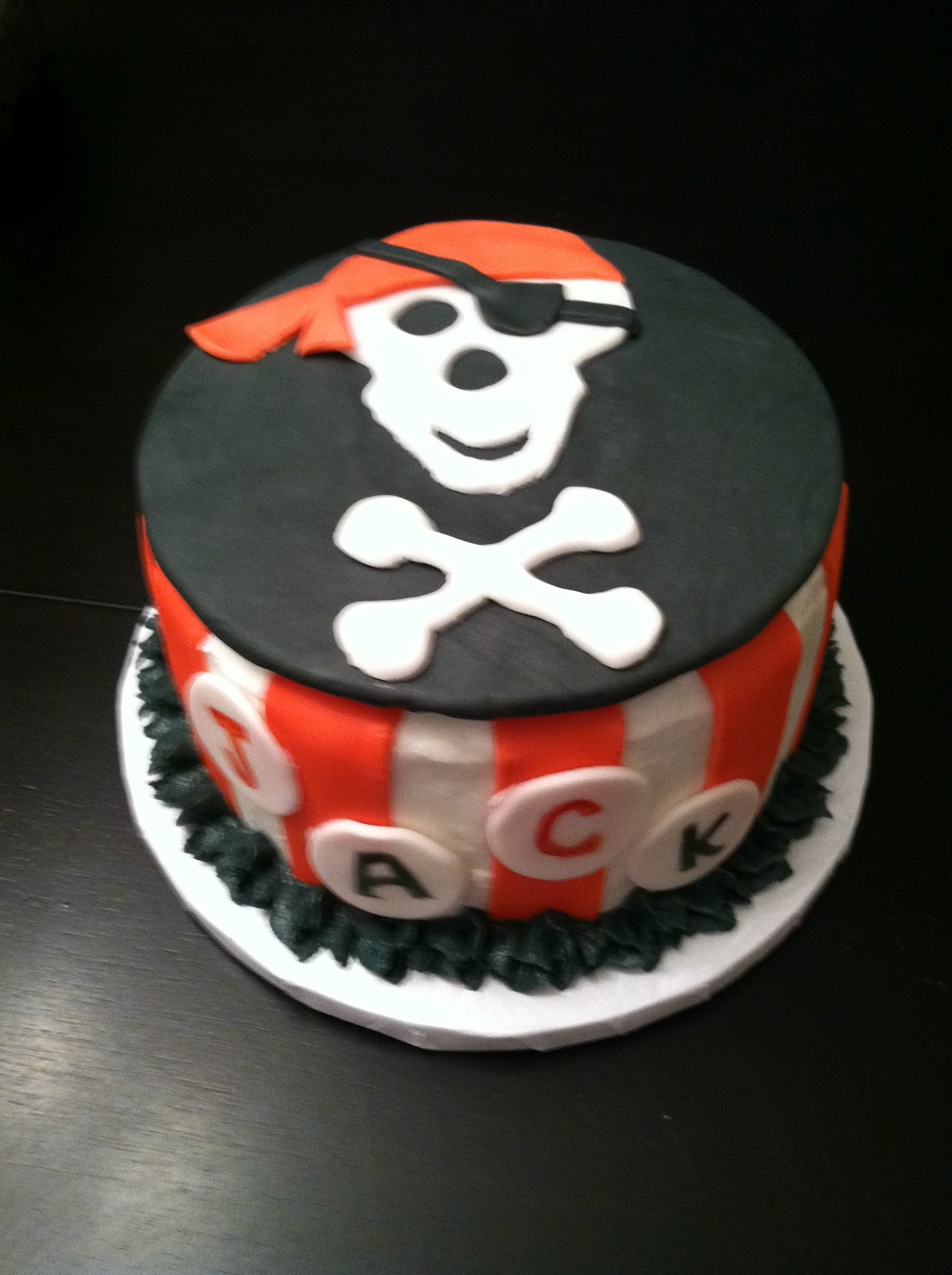Pirate cake - photo#7
