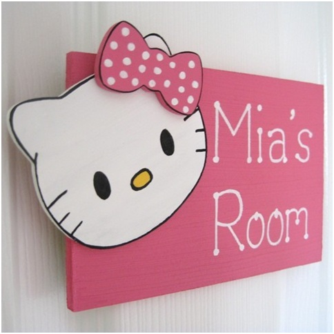 Ideas for decorating bedrooms with hello kitty for all fans of hello